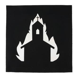 nášivka veľká Church in flames