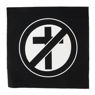 nášivka veľká Stop Christianity