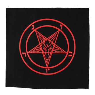 nášivka veľká Baphomet - pentagram