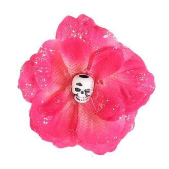 sponka do vlasov Skull - Little Pink, NNM