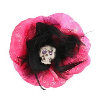 sponka do vlasov Skull