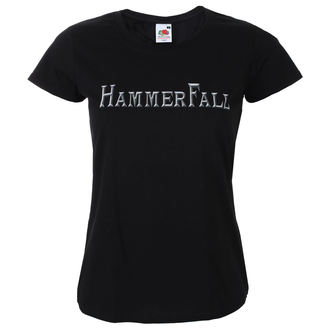 tričko dámske HAMMERFALL - Logo - NAPALM RECORDS, NAPALM RECORDS, Hammerfall
