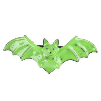 sponka do vlasov SOURPUSS - Bat - Green