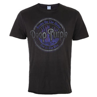 tričko pánske Deep Purple - Smoke on the Water - Charcoal - AMPLIFIED, AMPLIFIED, Deep Purple