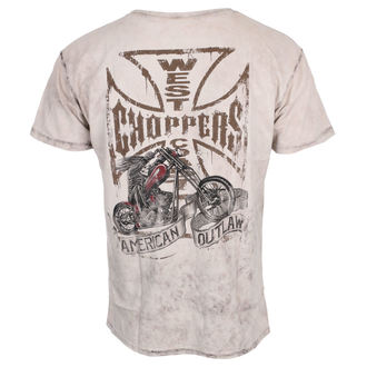 tričko pánske West Coast Choppers - CHOPPER DOG - Light brown, West Coast Choppers