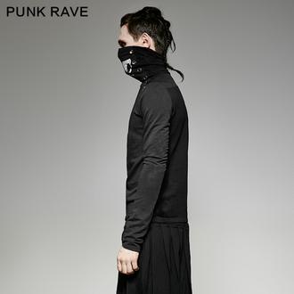 tričko pánske s dlhým rukávom PUNK RAVE - Monster, PUNK RAVE