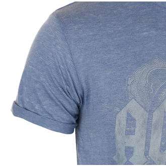 tričko pánske AC/DC - Black Ice - Mid Blue, ROCK OFF, AC-DC