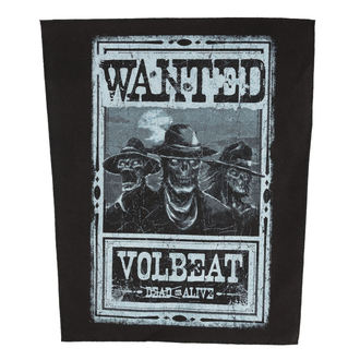 nášivka VOLBEAT - WANTED - ROCK OFF, ROCK OFF, Volbeat