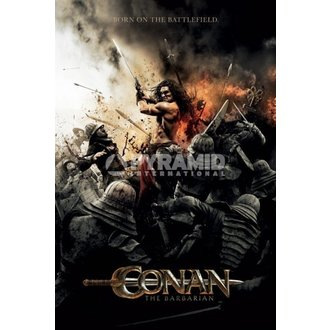 plagát Barbar Conan - Battlefield - PYRAMID POSTERS - rozbalenie, PYRAMID POSTERS