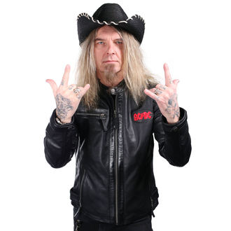 klobúk WORNSTAR - Hellrider HS Black Rocker Cowboy, WORNSTAR