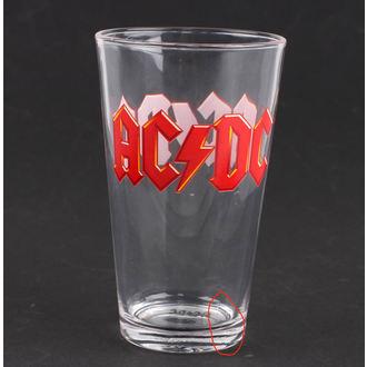 poháre AC/DC - Logo - PGAC1 - POŠKODENÁ, AC-DC