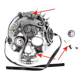 maska ZOELIBAT - Steampunk-Halbmaske Skull - POŠKODENÁ, ZOELIBAT