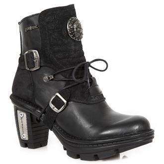 topánky dámske NEW ROCK - ITALI NEGRO, DRAMA ANTE NEGRO, NEW ROCK