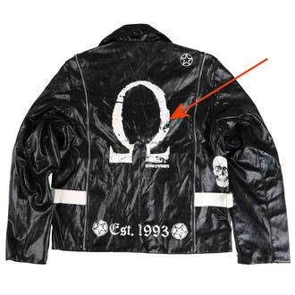 bunda pánska (křivák) ADERLASS - Rock Jacket Lacrimas Profundere - Black - POŠKODENÁ, ADERLASS
