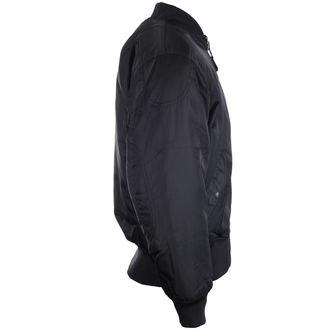bunda pánska zimný OSX - MA 1 FLIGHT - TEXTILE (BLACK)