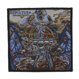 nášivka SEPULTURA - MACHINE MESSIAH - RAZAMATAZ, RAZAMATAZ, Sepultura