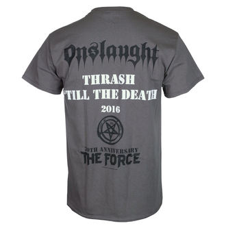 tričko pánske ONSLAUGHT - THE FORCE 30TH ANNIVERSARY - Charcoal - RAZAMATAZ, RAZAMATAZ, Onslaught