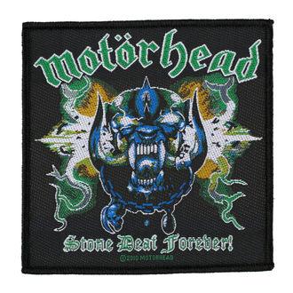 nášivka MOTORHEAD - STONE DEAF FOREVER - RAZAMATAZ, RAZAMATAZ, Motörhead