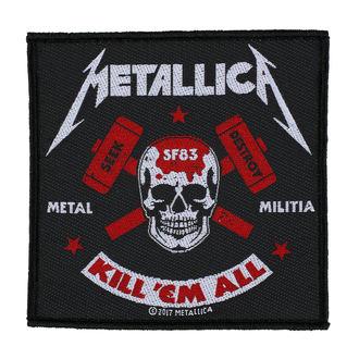 nášivka METALLICA - METAL MILITIA - RAZAMATAZ, RAZAMATAZ, Metallica