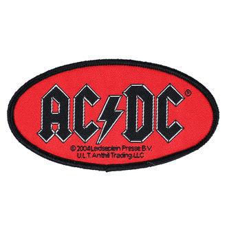 nášivka AC/DC - OVAL LOGO - RAZAMATAZ, RAZAMATAZ, AC-DC
