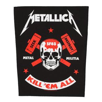 nášivka veľká METALLICA - METAL MILITIA - RAZAMATAZ, RAZAMATAZ, Metallica