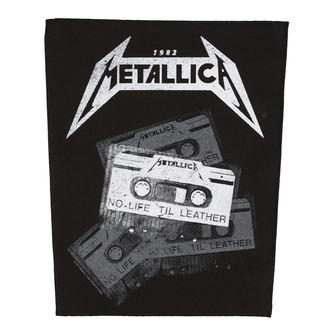nášivka veľká METALLICA - NO LIFE 'TIL LEATHER - RAZAMATAZ, RAZAMATAZ, Metallica