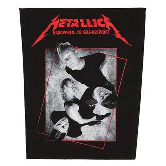 nášivka veľká METALLICA - HARDWIRED CONCRETE - RAZAMATAZ, RAZAMATAZ, Metallica