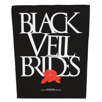 nášivka veľká BLACK VEIL BRIDES - ROSE - RAZAMATAZ, RAZAMATAZ, Black Veil Brides