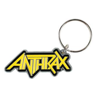 kľúčenka (privesek) ANTHRAX - LOGO - RAZAMATAZ, RAZAMATAZ, Anthrax