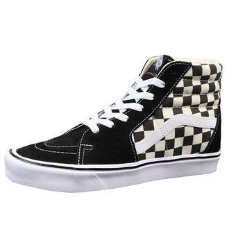 topánky VANS - UA SK8-HI LITE (Checkerboard) - Black/White, VANS