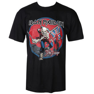 tričko pánske Iron Maiden - Trooper - Red Sky Black - ROCK OFF, ROCK OFF, Iron Maiden