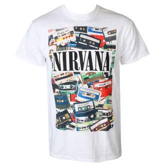 tričko pánske NIRVANA - CASSETTES - PLASTIC HEAD, PLASTIC HEAD, Nirvana
