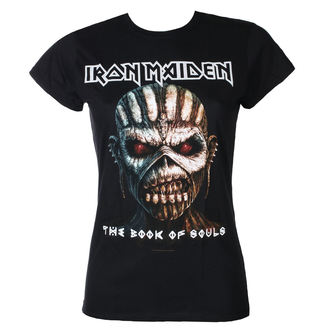 tričko dámske Iron Maiden - Book Of Souls - Blk - ROCK OFF, ROCK OFF, Iron Maiden