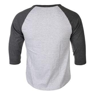 tričko pánske s 3/4 rukávom AC/DC - BACK IN BLACK - PLASTIC HEAD, PLASTIC HEAD, AC-DC