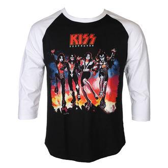 tričko pánske s 3/4 rukávom KISS - DESTROYER - PLASTIC HEAD, PLASTIC HEAD, Kiss