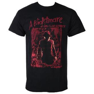 tričko pánske Noční můra z Elm Street - FREDDY SILHOUETTE - PLASTIC HEAD, PLASTIC HEAD