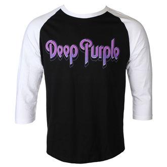 tričko pánske s 3/4 rukávom DEEP PURPLE - LOGO - PLASTIC HEAD, PLASTIC HEAD, Deep Purple