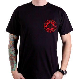 tričko pánske BLACK HEART - ACE OF SPADES - BLACK, BLACK HEART