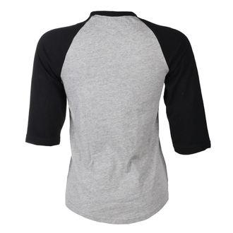 tričko dámske BLACK HEART - SATANELLA - GREY, BLACK HEART