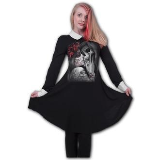 šaty dámske SPIRAL - DEAD KISS - peterpan, SPIRAL