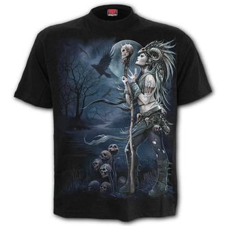 tričko pánske SPIRAL - RAVEN QUEEN - Black - K056M101