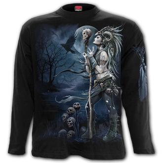tričko pánske s dlhým rukávom SPIRAL - RAVEN QUEEN, SPIRAL