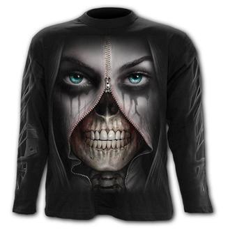tričko pánske s dlhým rukávom SPIRAL - ZIPPED, SPIRAL