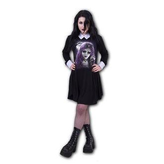 šaty dámske SPIRAL - GOTH DOLL - peterpan, SPIRAL