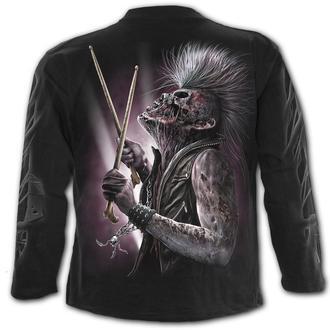 tričko pánske s dlhým rukávom SPIRAL - ZOMBIE BACKBEAT, SPIRAL