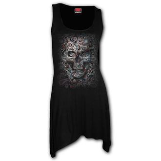 šaty dámske SPIRAL - SKULL ILLUSION, SPIRAL