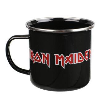 hrnček (plecháčik) Iron Maiden - Logo, Iron Maiden
