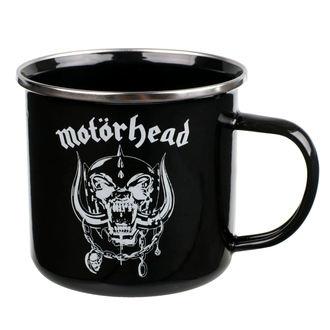 hrnček (plecháčik) Motörhead - Logo, NNM, Motörhead
