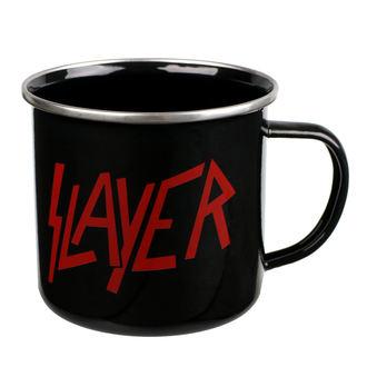 hrnček (plecháčik) Slayer - Logo, Slayer