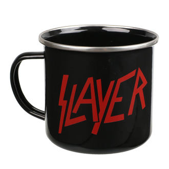 hrnček (plecháčik) Slayer - Logo, NNM, Slayer